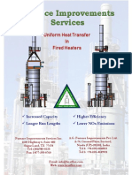 Furnace Improvements Services Brochure