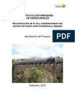 Proyecto Tren del Pacifico Central - 2019
