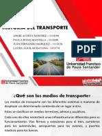 transporte, historia en el mundo