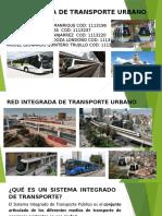 RED INTEGRADA DE TRANSPORTE URBANO