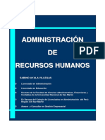 Ayala Villegas Admin is Trac Ion de Recursos Humanos