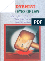 Qadiyaniyat in the Eyes of Law by Muhammad Mateen Khalid
