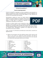 Evidencia 2 Describing and comparing products