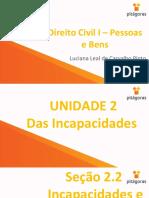 Seção 2.2 e 2.3