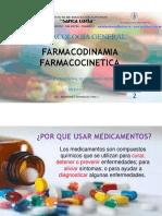 V ENFERMERIA II CLASE FARMACODINAMIA-FARMACOCINETICA
