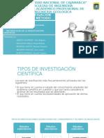 TIPOS DE INVESTIGACIÓN CIENTÍFICA Y EL MÉTODO CIENTÍFICO.pptx