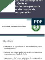 Integração Lavoura Pecuaria Floresta - ILP(F)