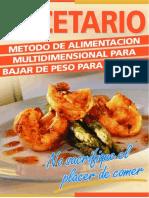 dietas - atkins - libro de  recetas