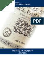 Informe de Comercio Exterior del Banco Central del Paraguay