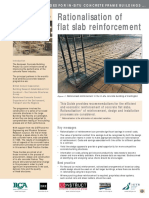 Rationalisation of Reinf in Flat Slabs