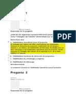 EVALUACION CLASE 3 DIRECCION DE PROYECTOS I