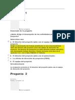 EVALUACION CLASE 4 DIRECCION DE PROYECTOS I