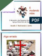 1 - CONSTRUINDO COMUNIDADE