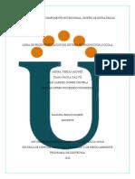 Fase 3- Proyecto Componente nutricional, Diseño de estrategias