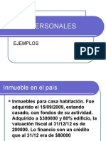 BIENES PERSONALES ejemplos