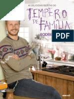 As deliciosas receitas do Tempero em Família - Rodrigo Hilbert.pdf · versão 1