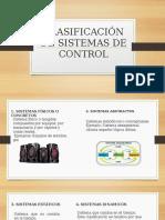 CLASIFICACIÓN DE SISTEMAS DE CONTROL