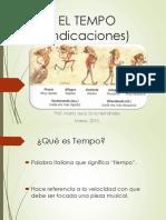 1-El Tempo, indicaciones