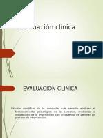 evalaucion clinica