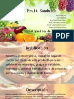 SANDWICH DE FRUTAS