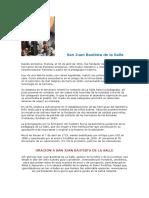 Biografia San Juan Bautista de la Salle