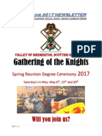 Apr-June 2017 Valley of Bremerton Newsletter