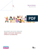 Capacity Building Stream Guidelines