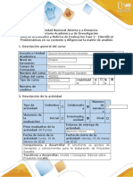 Guía de actividades y rúbrica de evaluación - Fase 2 - Identificar Problemáticas en su contexto y diligenciar la matriz de análisis (2)