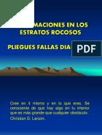 9.0  DEFORMACIONES EN LOS ESTRATOS ROCOSOS