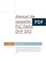 Manual de Conexion Delta DVP SX2