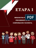 INFORME ETAPA 1 REQUISITOS PARA SER PROVEEDOR CORPORACION FAVORITA.pdf