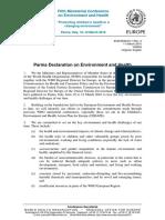 Parma-Declaration