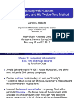 Roberts - Composing with Numbers-Schonberg and his 12ve Tone Method