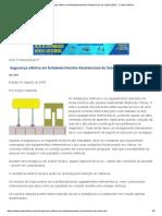 Segurança elétrica em Estabelecimentos Assistenciais de Saúde (EAS) - O Setor Elétrico