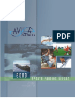 2003 Sports Funding Report