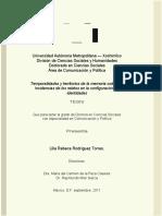 Incidencia de los relatos en la configuración de identidades_Lilia Rebeca Rodríguez Torres