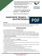 ASSISTENTE TÉCNICO - TÉCNICA _ELETROTÉCNICA_