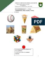Unidad N°1 Cuerpos Geométricos (1ª parte) TERCER AÑO (1)