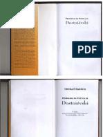 BAKHTIN, M. Problemas da Poética de Dostoiévski. 3 ed. 2002