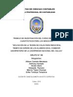 Aplicacion de la teoria de colas para reducir el tiempo de espera de los alumnos en el comedor universitario de la universidad Nacional del Callao.docx