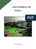 Termales de Paipa- TTururismo de bienestar