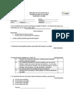 PRUEBA DE DIAGNÓSTICO PUERTOS DEL ECUADOR  1S 2020