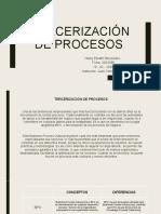 Tercerizacion de procesos Hilary