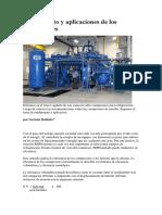 Rendimiento y aplicaciones de los compresores