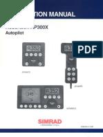 Manual autpiloto Robertson AP300X
