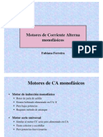 Motores CA monofasicos