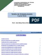 PRESENTACIÓN 3. Variables aleatorias,clasificación, función de probabilidad o densidad, función de distribución