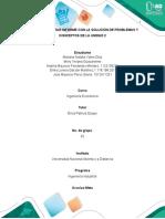 Tarea 2 Presenta informe con la solución de problemas y conceptos de la unidad 2.