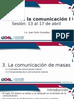 3.1 Concepto de comunicación de masas 13 04 2020