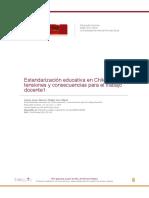 ESTANDARIZACION EDUCATIVA EN CHILE
